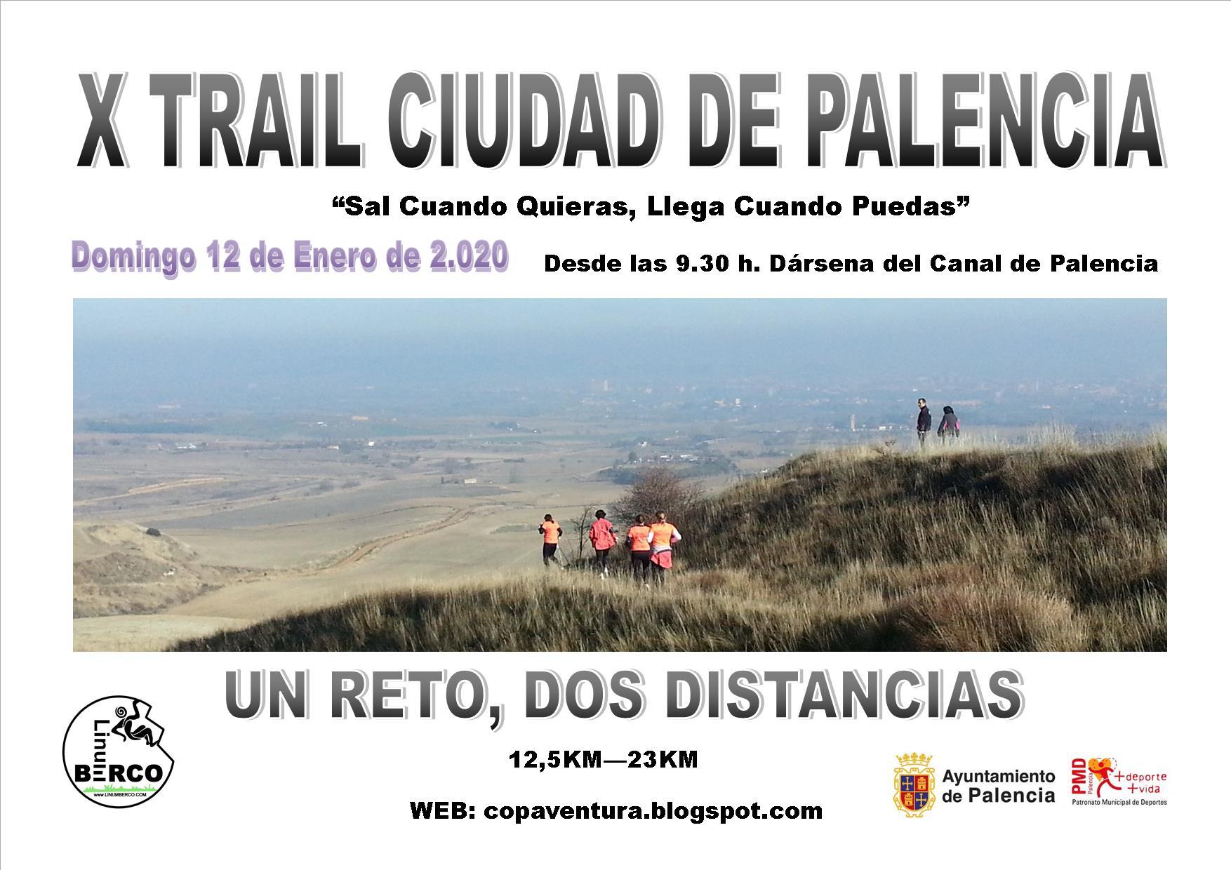 X EDICIÓN DEL TRAIL DE BAJA MO&NtildeTANA DE PALENCIA